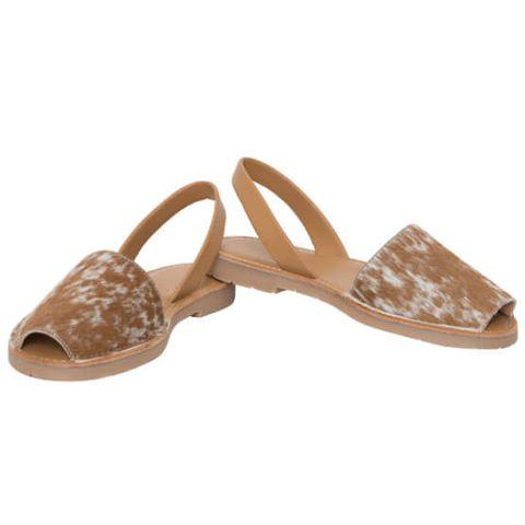Cowhide Slingback Shoes - SHOE50