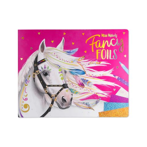 Fancy Foils Colouring and Activity Book - 0410352