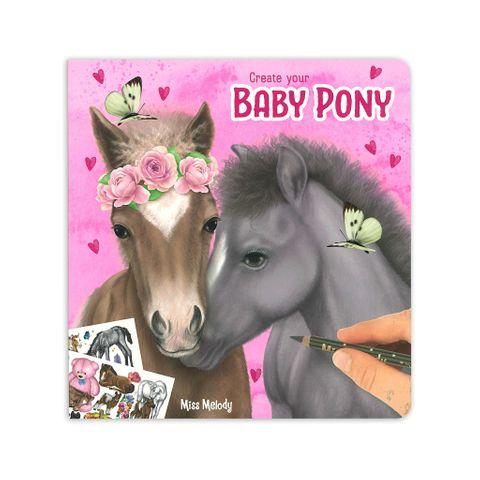 Baby Pony Colouring & Activity Book - 0410466