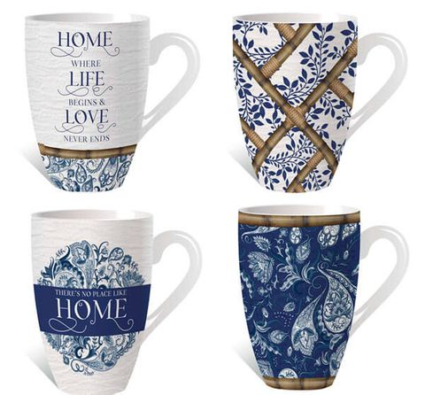 Chippendale Assorted Mugs - KZH-0080