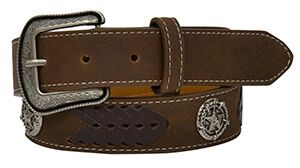 Star Concho Laced Belt - DWC5012