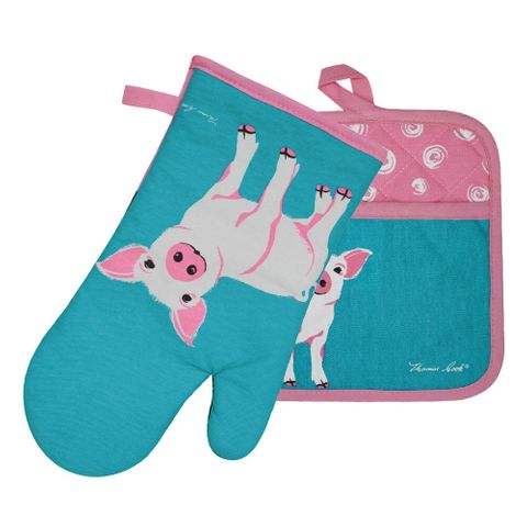 Piglet Oven Mitt & Pot Holder Set - TCP2922096 409