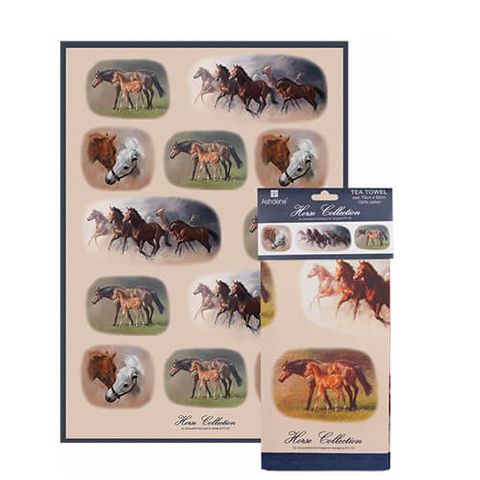 Horses Tea Towel - 540088