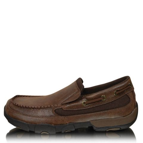 Men's Casual Driving Moc Slip On - TCMDMS009
