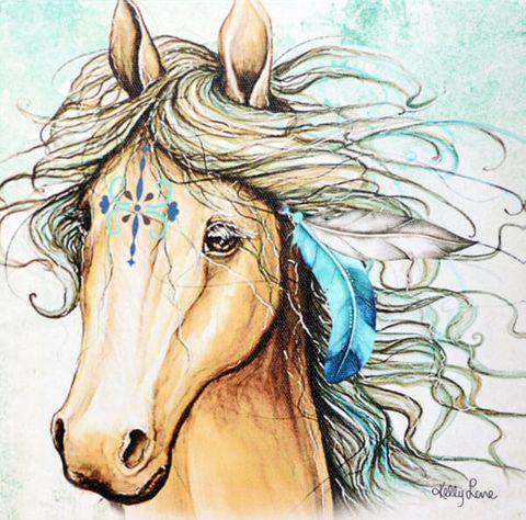 Pegasus Painting - KBD-0266