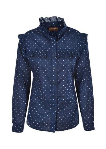 Women's Maya Frill L/S Shirt - X0S2135563
