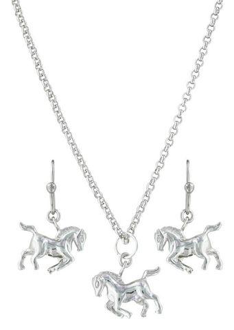Prancing Horse Jewellery Set - JS3381