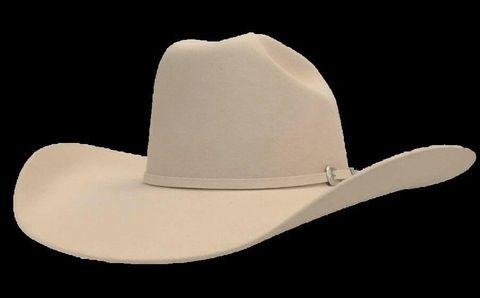 4X Fur Felt Cowboy Hat - 4X SILVERBELLY
