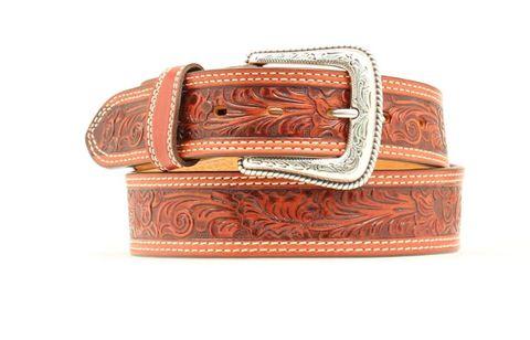 Men's Tooled Western Belt - N2496808