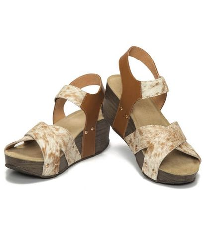 Cowhide Wedges - SHOE57T