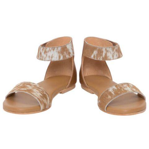 Women's Cowhide Gladiator Shoes - SHOE52T