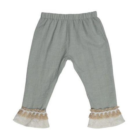 Lace Cuff Pants - LACECUFF