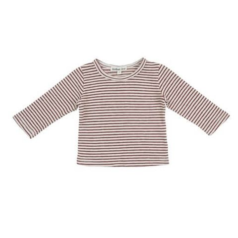 Red Stripe L/S Top - REDSTRIPE