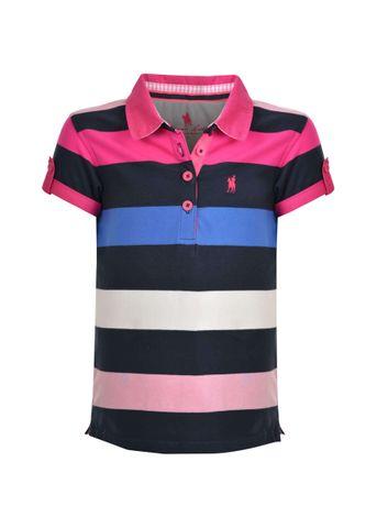 Trish Stripe S/S Polo - T0S5510102