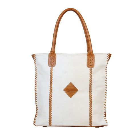 Women's Purity Leather & Hair Bag - S-2594
