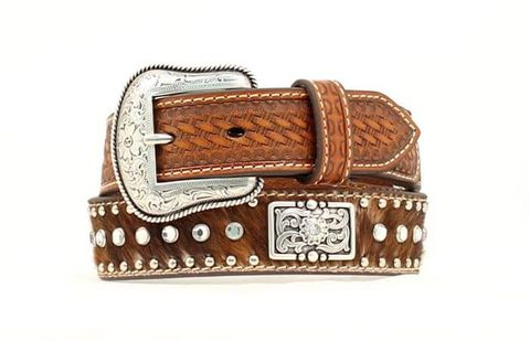 Boy's Cowhide Belt - N4419402