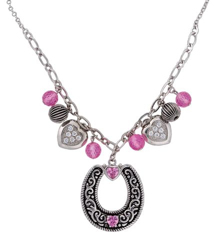 Charmed Cowgirl Necklace - NC1281PK
