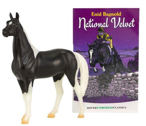 Classics National Velvet Horse & Book - TBC6180