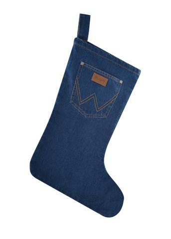 Denim Christmas Stocking - X0S2914STK