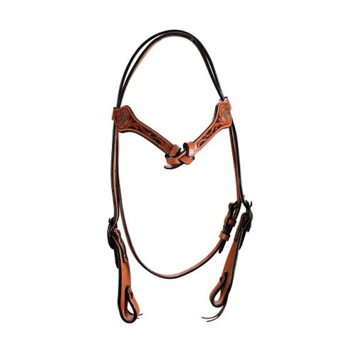Iroquois Knotted Headstall - FOR20-0077