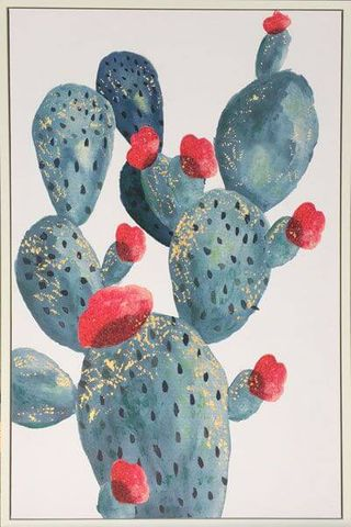 Cactus Shadow Frame Painting - AYH-0091