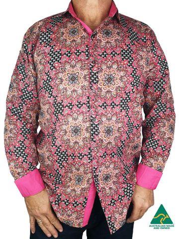 Men's Mandala L/S Shirt - MANDALA