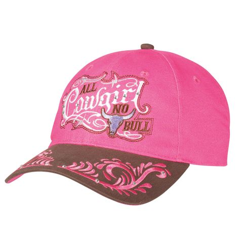 Women's All Cowgirl No Bull Cap - 1514029
