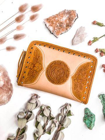 Women's Golden Gypsy Wallet - GOLDENCRM