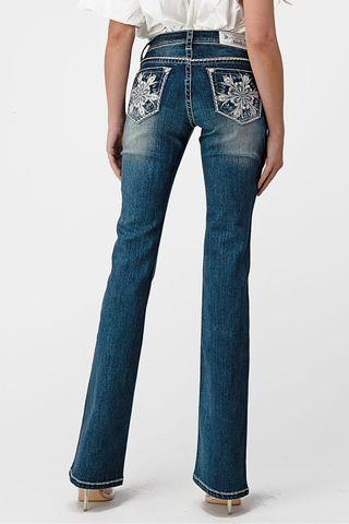 Women's Embellished Jean - EB51612