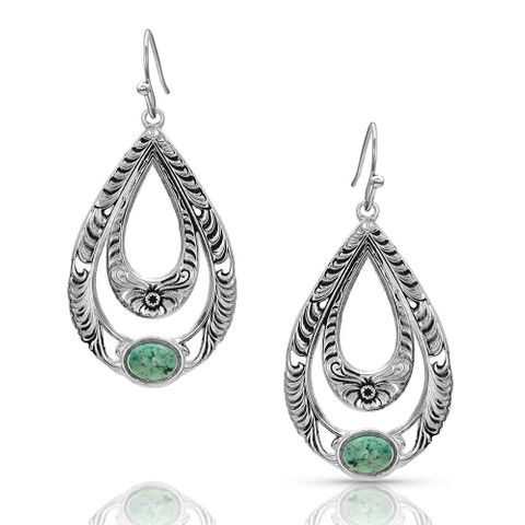 Hidden Canyon Turquoise Earrings - ER4438