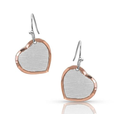 Perfectly Paired Two-Tone Earrings - ER4452RG
