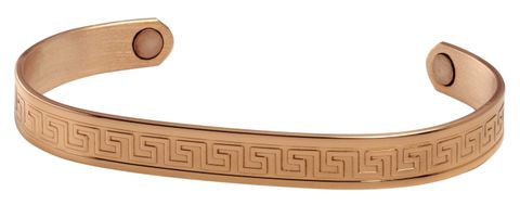 Aztec Copper Magnetic Bracelet - 527