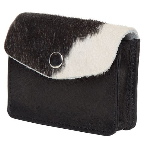 Women's Card and Change Purse - CA02BLK