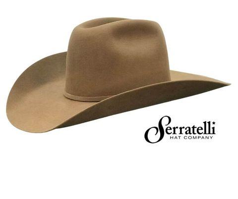 6X Pecan 4 3/8 Brim Cowboy Hat - 6XPECAN438