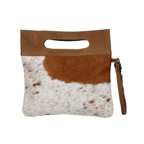 Women's Bijou Leather & Hair Bag - S-2652