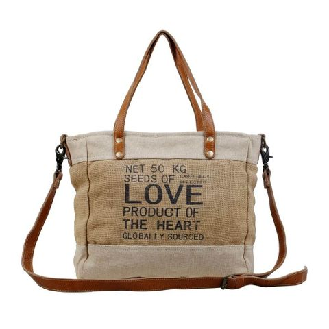 Women's Organic Fabric Market Bag - S-2887
