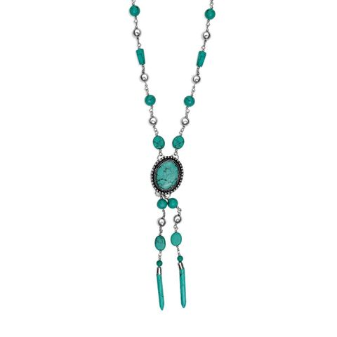 Blue Sea Necklace - S-3253
