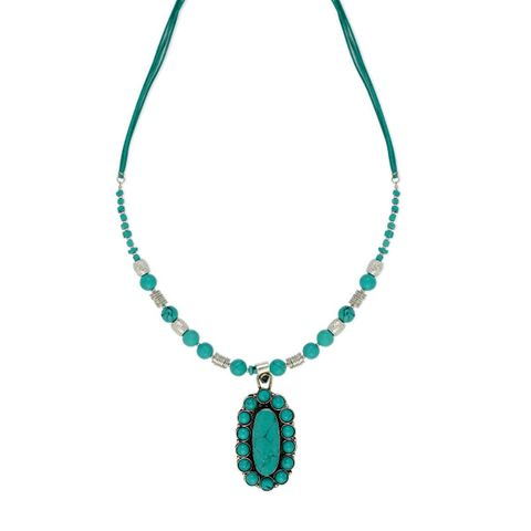 Aqua Necklace - S-3257