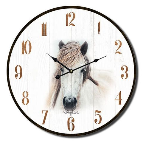 Country Mare Clock - KEW-0223