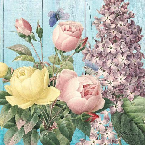 Heirloom Rose Canvas - KBD-1421