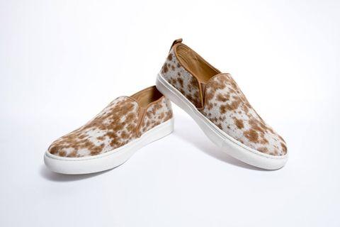 Women's Comfy Cowhide Shoe - SHOE60T