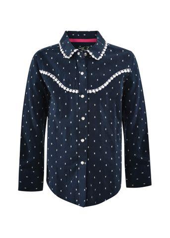 Girl's Yvonne L/S Shirt - P1W5103440
