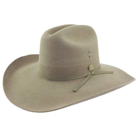 Serpentine Fur Felt Cowboy Hat - 21065780