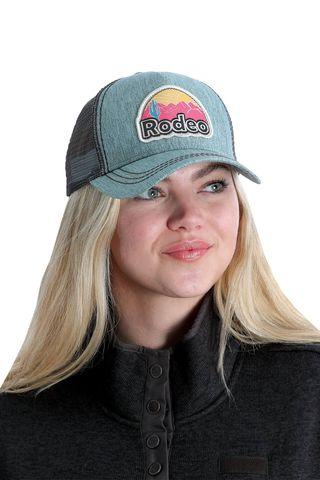 Women's Rodeo Trucker Cap - MHC7874017