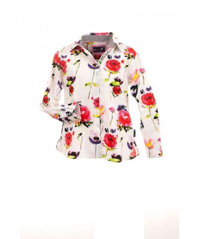 Women's Field Flowers Classic L/S Shirt - W01ABFF