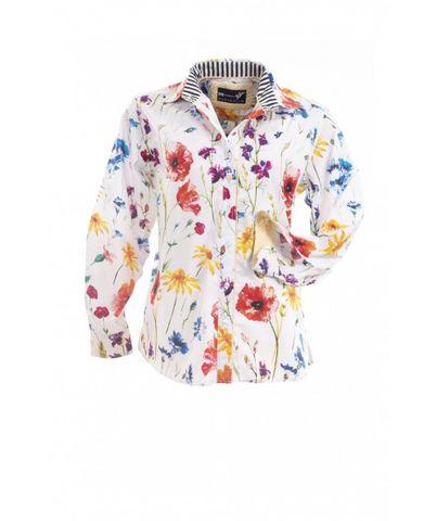 Women's Field Poppy Classic L/S Shirt - W01ABPPY