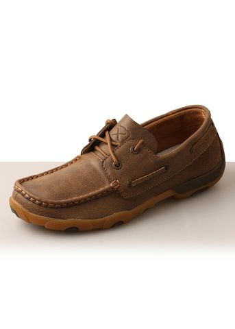 Women's Casual Lace Up Driving Moc - TCWDM0003