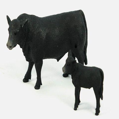 Angus Cow And Calf - 404