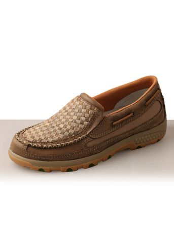 Women's Weave Cell Stretch Slip On Shoe - TCWXC0005