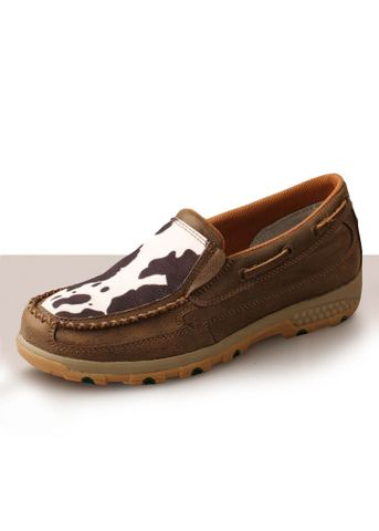 Women's Cow Cell Stretch Slip On Shoe - TCWXC0006